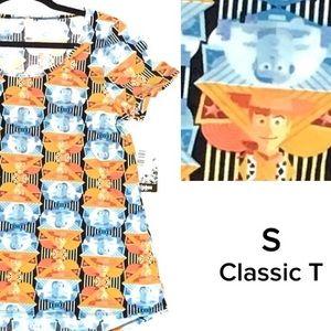 LuLaRoe Disney Toy Story Small Classic T top